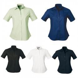 Ladies' Stratagem Shirt (Short Sleeve)