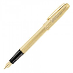 Prelude Fluted 22K Gold - Fountain Pen