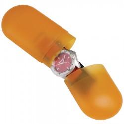 Pill Shaped Watch Plastic Box