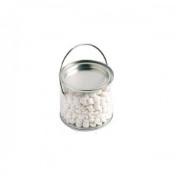 Medium PVC Bucket Filled with Mints 400G (Normal Mints)
