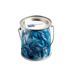 Big PVC Bucket Filled with Mentos 350G (Approx. 125 Lollies)