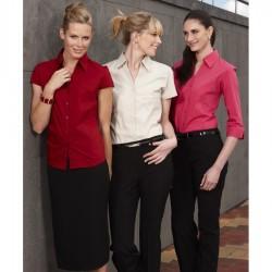 Ladies 3/4 Metro Stretch Shirt