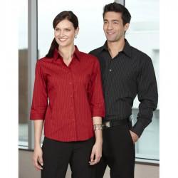 Ladies 3/4 Manhattan Stretch Shirt