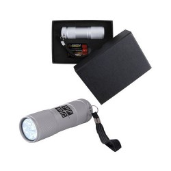The Tube Silver Aluminium LED Torch