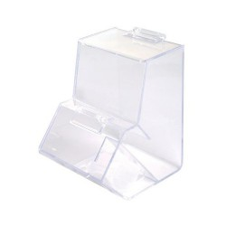Clear Dispenser With Scoop Empty