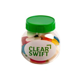 Plastic Jar Filled with Mixed Lollies 135G