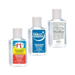 60ml Liquid Hand Sanitiser