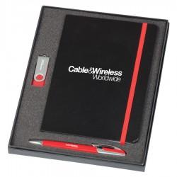 Notebook, USB & Havana Pen