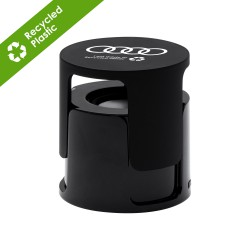 Ruma Wireless Speaker in Recycled ABS - Black