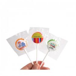 Small Branded Lollipop