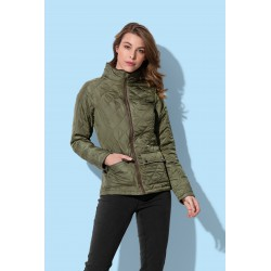 Womens Active Quilted Jacket