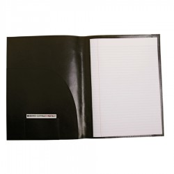 Bonded Leather A4 Notepad Cover