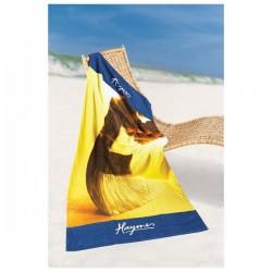 Fibre Printed Medium Beach Towel