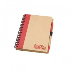 Nature Notepad with pen