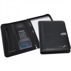 Bradford Leather Calculator Zip Portfoloio