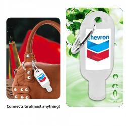 30ml Hand Sanitiser Gel w/ Carabiner