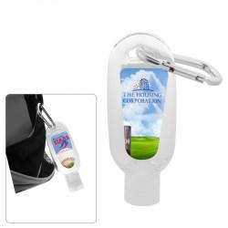 60ml Hand Sanitiser Gel with Carabiner
