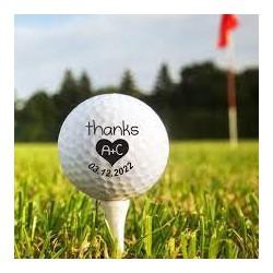 Printed Golf Balls